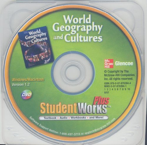 9780078783944: World Geography and Cultures, StudentWorks Plus DVD