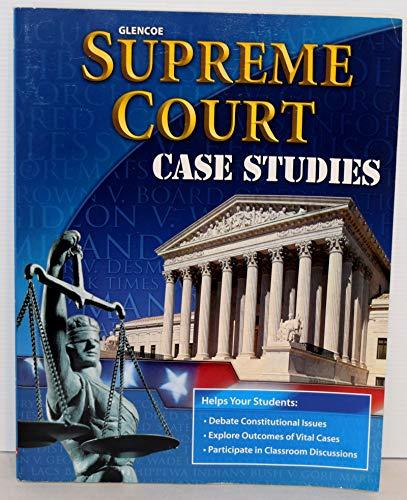 9780078784453: Supreme Court Case Studies (The American Vision)