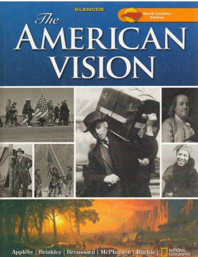 9780078785757: The American Vision, North Carolina Edition