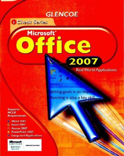 9780078786051: iCheck Microsoft Office 2007, Student Edition (ACHIEVE MICROSOFT OFFICE 2003)