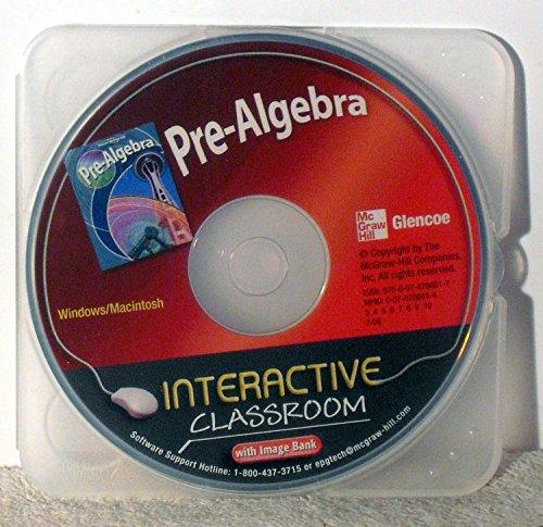 9780078786617: Glencoe Mcgraw-Hill Pre-Algebra Interactive Classroom w/ image bank