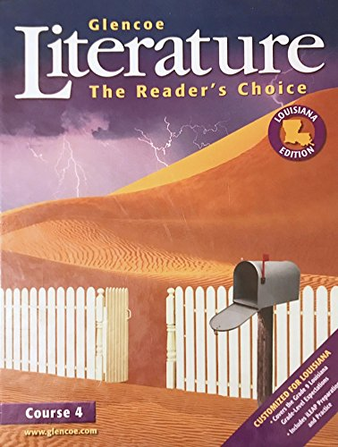 9780078786976: Glenco Literature: The Reader's Choice, Course 4 (Louisiana Edition)