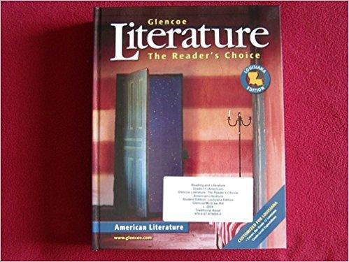 9780078786990: Glenco Literature, The Reader's Choice: American Literature (Louisiana Edition)