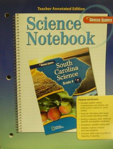 9780078787188: Glencoe Science Notebook ATE SC Science Grade 8