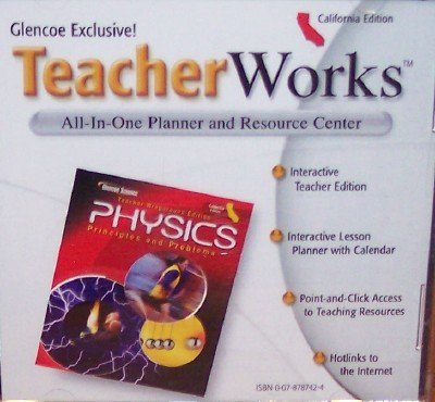 9780078787423: Physics: TeacherWorks; Principles and Problems (All-In-One Planner and Resource Center, V 1.9.2)