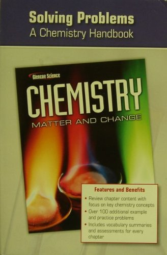 9780078787577: Chemistry: Matter and Change, Solving Problems: a Chemistry Handbook
