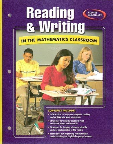 9780078788987: Glencoe PreAlgebra Reading and Writing In The Mathematics Classroom