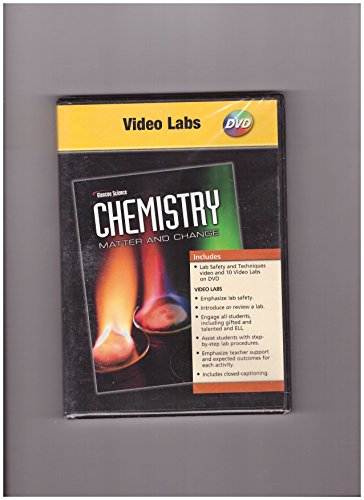 9780078789120: Chemistry Matter And Change: Video Labs DVD-ROM