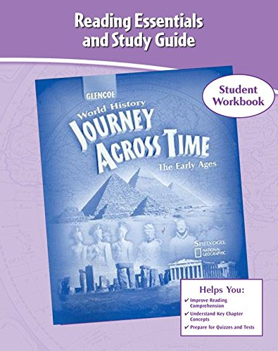 9780078789236: Journey Across Time, Early Ages, Reading Essentials and Study Guide, Workbook