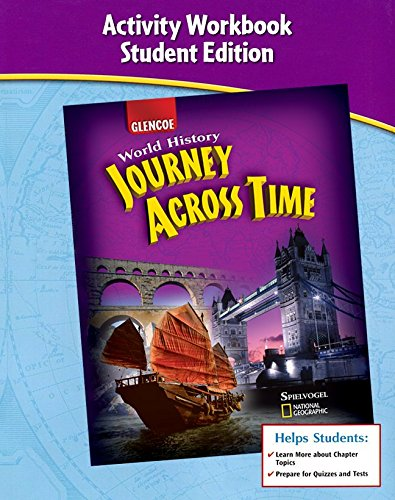9780078789311: Journey Across Time, Early Ages, Activity Workbook, Student Edition (MS WH JAT FULL SURVEY)