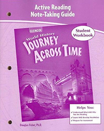 9780078789496: Journey Across Time, Active Reading and Note-Taking Guide (MS WH JAT FULL SURVEY)