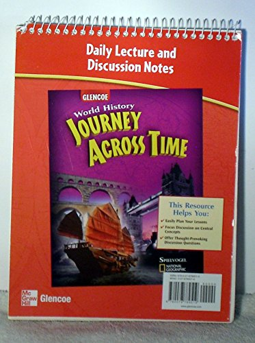 9780078789519: Daily Lecture and Discussion Notes (Glencoe, World History Journey Across Time)