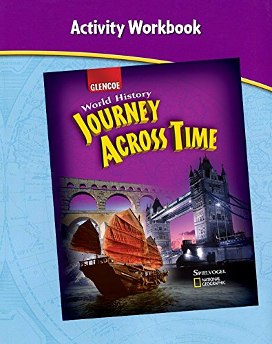 9780078789540: Journey Across Time, Activity Workbook, Student Edition (MS WH JAT FULL SURVEY)