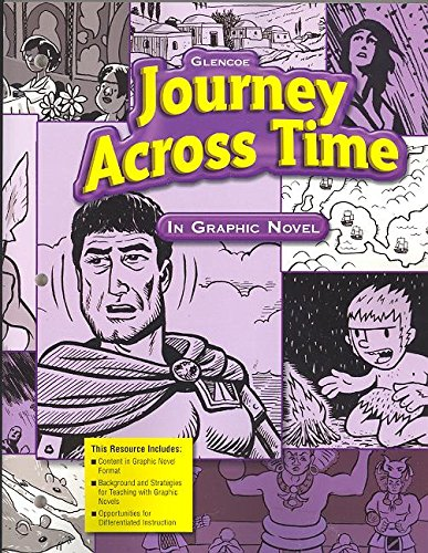 9780078789618: Journey Across Time: In Graphic Novel