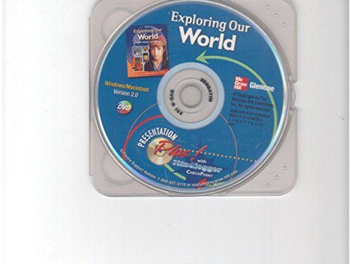 9780078790799: Presentation Plus with MindJogger Checkpoint DVD (Exploring Our World People, Places, and Cultures)