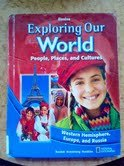 9780078791680: People, Places, and Cultures: South America, Europe, and Russia (North Carolina Grade 6 Student Edit
