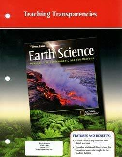 2008 Glencoe Earth Science Teaching Transparencies: Various