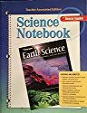 9780078792021: Science Notebook, Teacher Annotated Edition, Earth Science