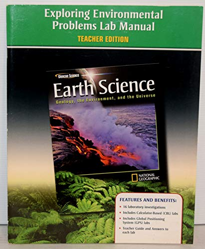 9780078792045: Earth Science: Exploring Environmental Problems Lab Manual (Teacher Edition)
