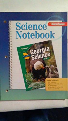9780078792380: Science Notebook, Glencoe Science, Georgia Science, Grade 7