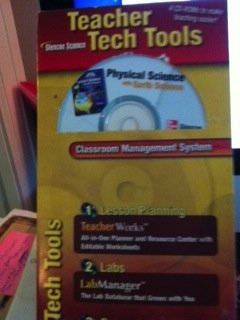 9780078793431: Introduction to Physical Science Teacher Tech Tools (Glencoe science)
