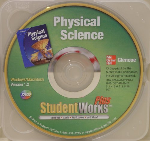 9780078793844: Student Works Plus DVD t/a Glencoe Physical Science
