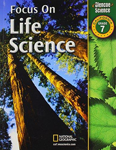 9780078794346: Focus on Life Science California, Grade 7