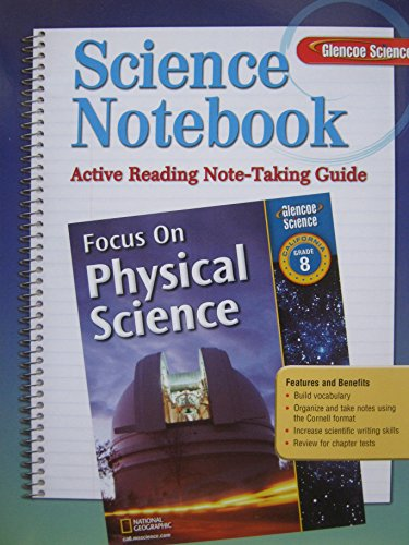 9780078794452: Science Notebook Active Reading Note-taking Guide Science Grade 8
