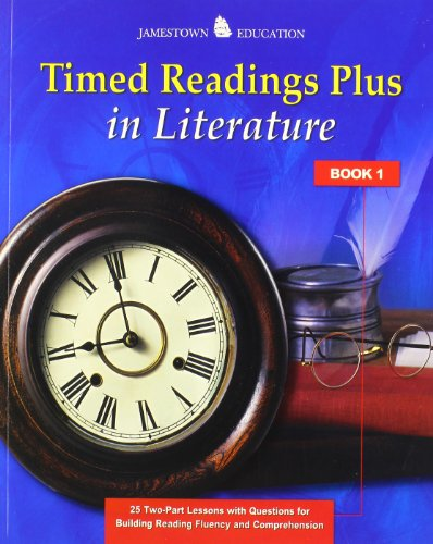 9780078794469: Timed Readings Plus in Literature: Book 1