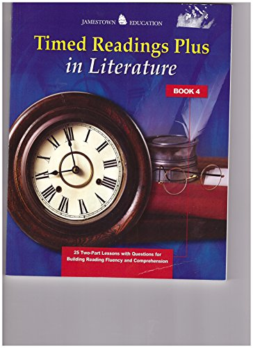 9780078794490: Timed Readings Plus in Literature: Book 4