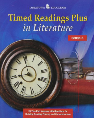 Timed Readings Plus in Literature: Book 5: Jamestown Pubns