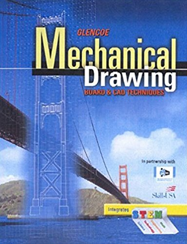 9780078796050: Mechanical Drawing Board & CAD Techniques, Student Edition