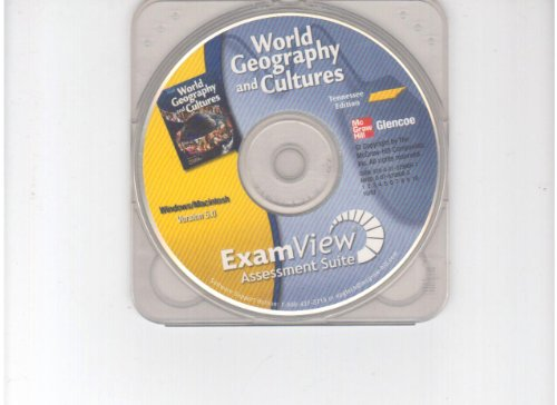 9780078796081: ExamView Assessment Suite CD-ROM TENNESSEE Edition (World Geography and Cultures)