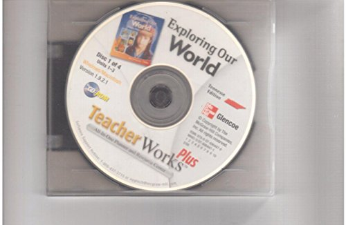 9780078797217: TeacherWorks All-In-One Planner and Resource Center DVD (Exploring Our World Tennessee Edition)