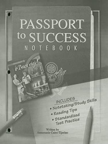 9780078797910: ¡Buen viaje! Level 2, Passport to Success (Bon Voyage Series)