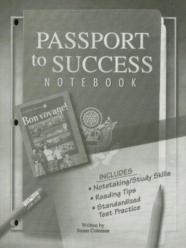 9780078797958: Bon voyage! Level 1, Passport to Success (Bon Voyage Series)