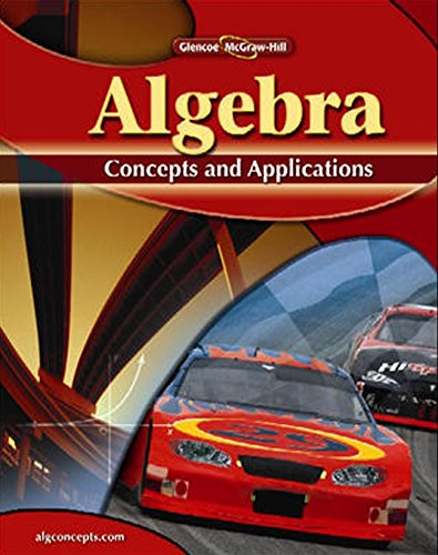 Algebra : Concepts and Applications: Jerry Cummins; Kay