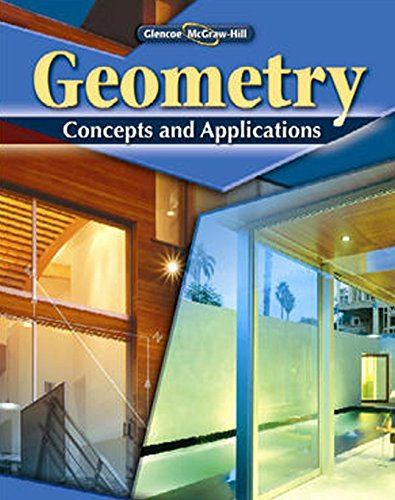 9780078799143: Geometry: Concepts and Applications, Student Edition