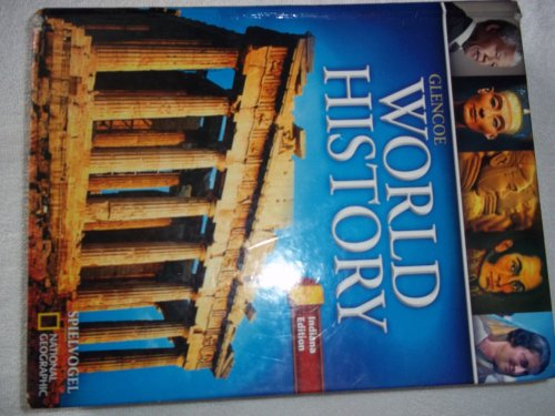 Glencoe World History Indiana Student Edition. (Hardcover): Hill, Glencoe Macmillan McGraw