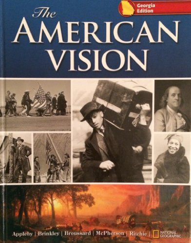 9780078799983: The American Vision Georgia Edition
