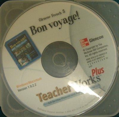9780078800238: Glencoe French 3 Bon voyage TeacherWorks Plus