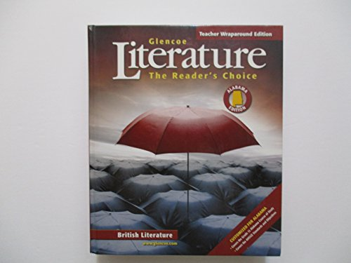 Literature The Reader's Choice Teacher's Wraparound Edition: Glencoe, McGraw Hill