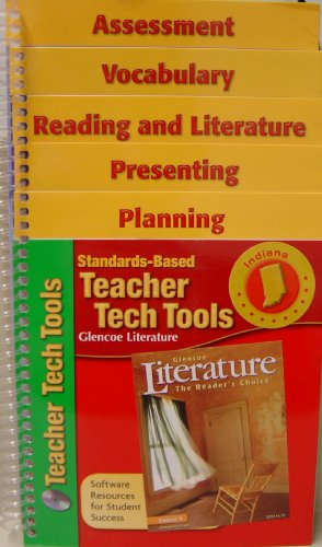 Standards Based Teacher Tech Tools Glencoe Literature Library Indiana Version: Glencoe