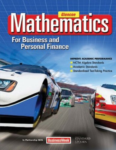 9780078805059: Mathematics for Business and Personal Finance Student Edition