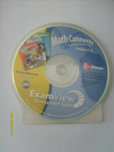 9780078805530: Math Connects Courses 1-3 (Exam View Assessment Suite)