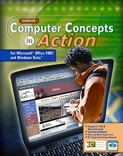 9780078805776: Computer Concepts in Action, Student Edition