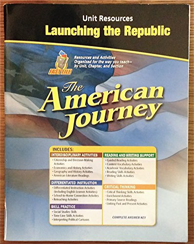 UNIT RESOURSES LAUNCHING THE REPUBLIC (THE AMERICAN JOURNEY): GLENCOE