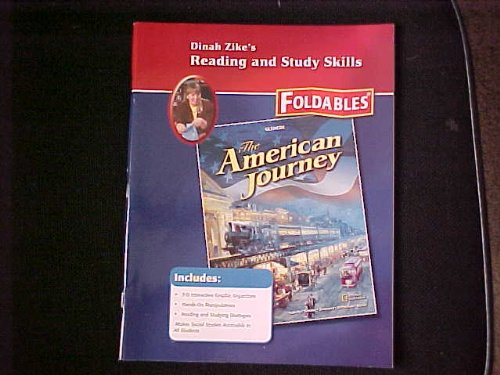 9780078806070: Glencoe The American Journey Dinah Zike's Reading and Study Skills Foldable. (Paperback)