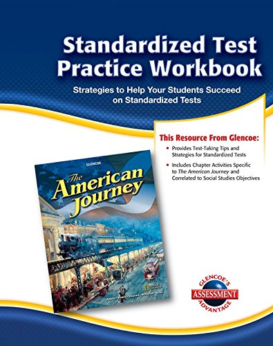 9780078806124: The American Journey, Standardized Test Practice Workbook (Glencoe's Assessment Advantage)