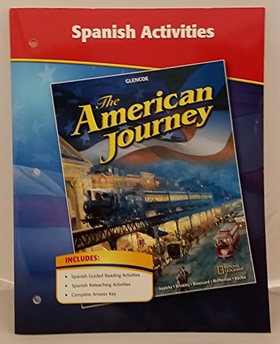 9780078806209: Glencoe The American Journey Spanish Activities. (Paperback)